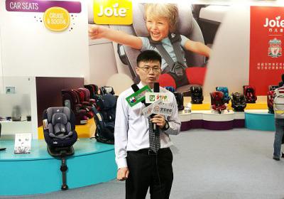 巧儿宜技术总监-许丁旺参加中国婴童展
