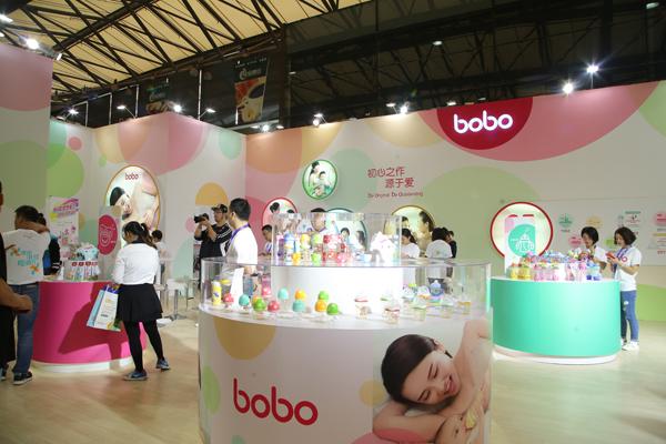 bobo品牌在2017中国婴童展发布新品