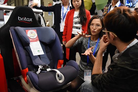 儿童安全座椅采购商咨询产品卖点
